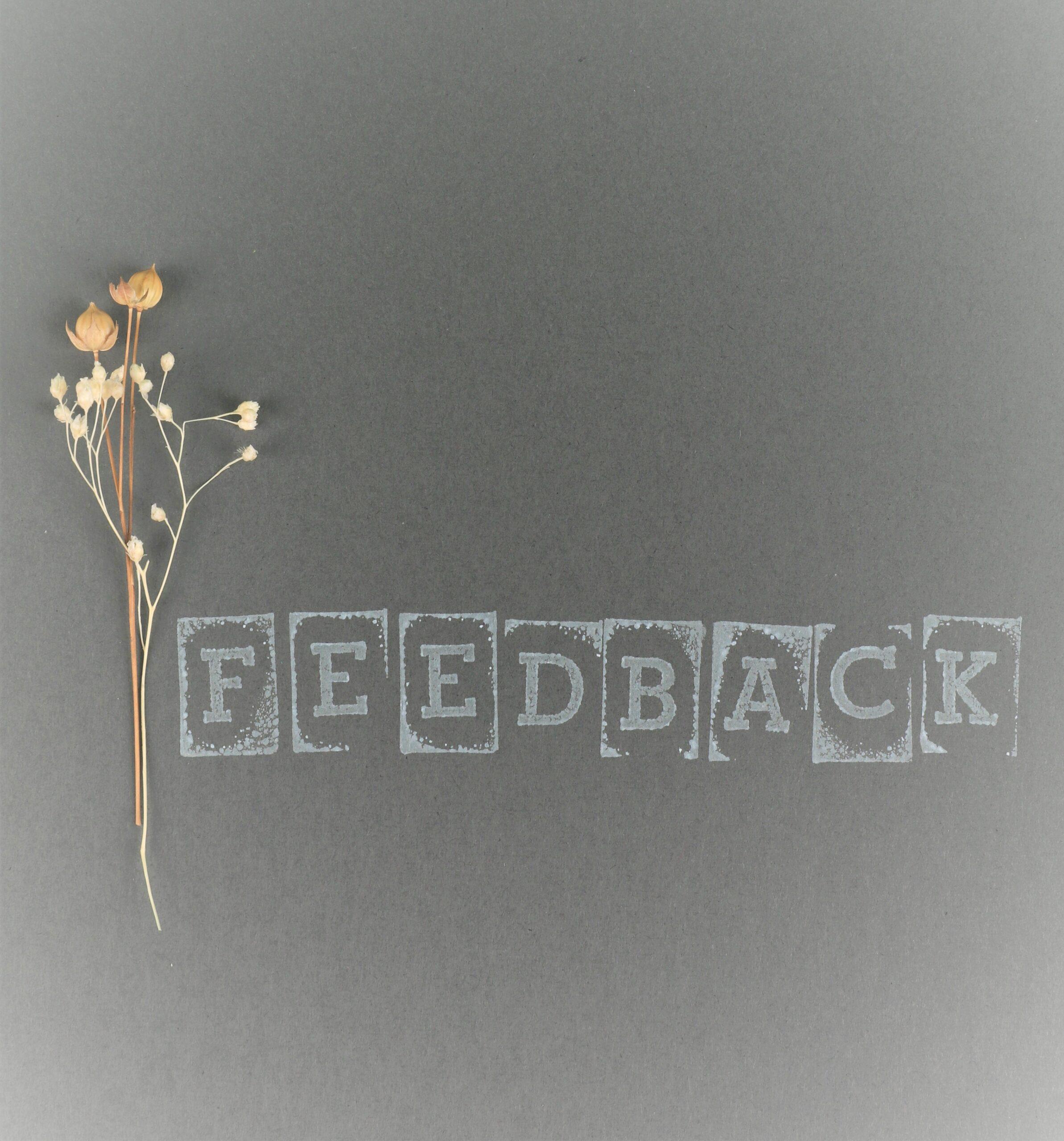 Creating a Feedback Culture